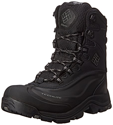 Columbia Men's Bugaboot Plus III Oh Wide Cold Weather Boot, Black/Charcoal, 11 EE US