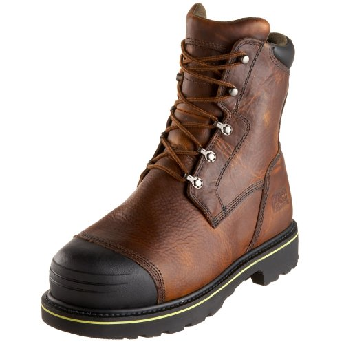 Timberland PRO Men's 99524 Warrick 10″ Smelter Boot,Brown/Brown,9.5 M