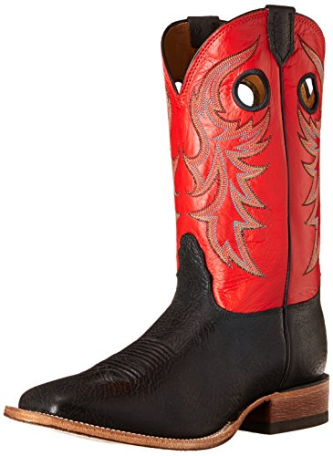 Nocona Boots Men's Mens Legacy Equestrian Boot,Black/Delta,12 D US
