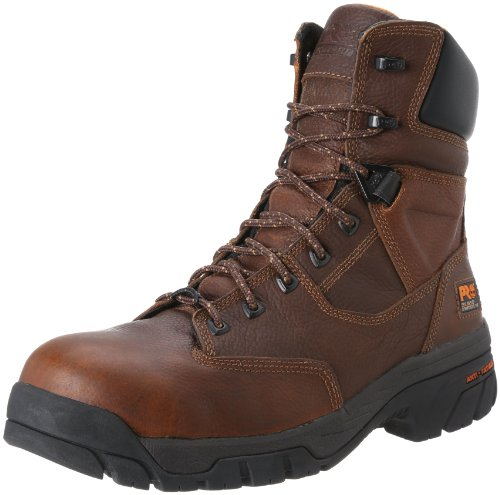 Timberland PRO Men's Helix 8 Inch Comp Toe Work Boot,Brown,12 W US