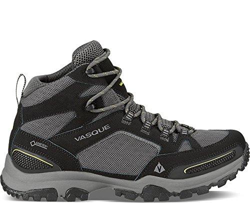Vasque Men's Inhaler GTX Hiking Boot, Black/Primrose Yellow, 12 M US