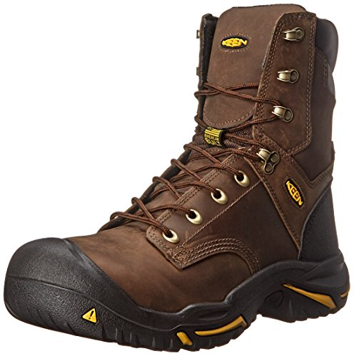 KEEN Utility Men's Mt. Vernon Engineer Boot, Cascade Brown, 10 D US