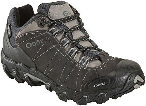 Oboz Bridger Low BDry Hiking Boot – Men's Dark Shadow 11
