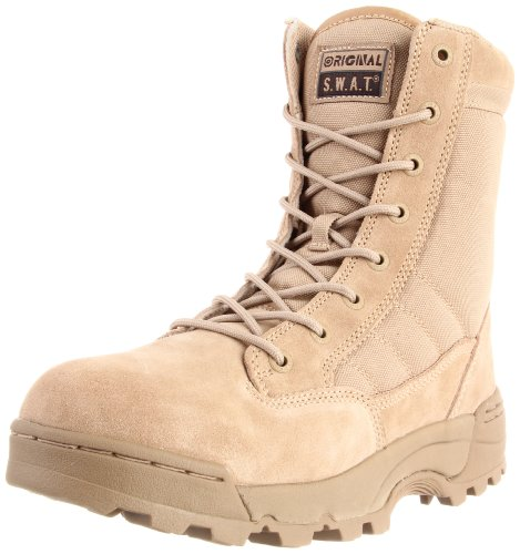 Original S.W.A.T. Men's Classic 9 Inch Tactical Boot, Tan, 15 2E US