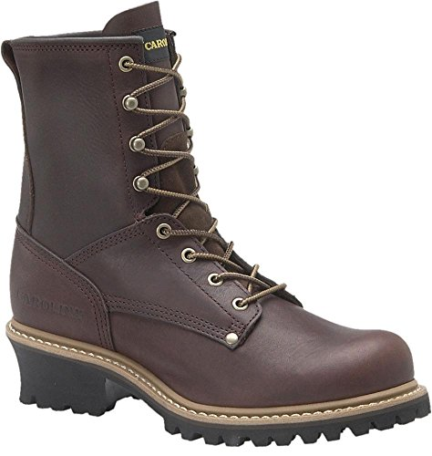 Carolina – Mens – 8 Inch Plain Toe Logger