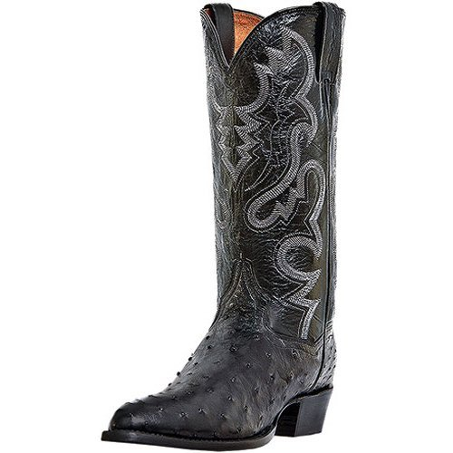 Dan Post Men's Tempe Western Boot,Black,10.5XW US