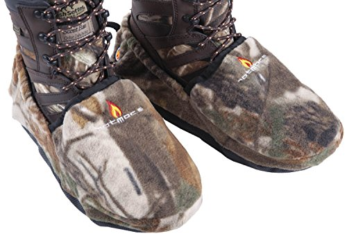 HotMocs Shoe And Boot Covers With Warmers – RealTree AP (Small)