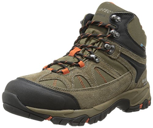 Hi-Tec Men's Altitude Lite I WP Hiking Boot, Smokey Brown/Taupe/Red Rock,11 W US