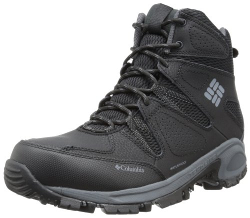 Columbia Men's Liftop II Snow Boot,Black/Charcoal,9 M US