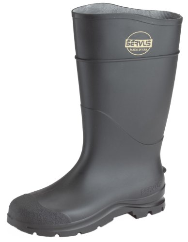 Norcross Servus 18822-11 16″ Black Economy Knee Boot Size 11