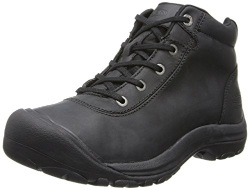 KEEN Men's Briggs Mid WP Chukka Boot,Black,11 M US
