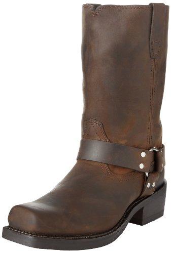 Durango Men's DB594 11″ Harness Boot,Distressed Brown,12 M US