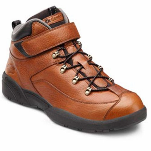 Dr. Comfort Ranger Men's Therapeutic Diabetic Extra Depth Hiking Boot: Chestnut 11 X-Wide (3E/4E) Lace