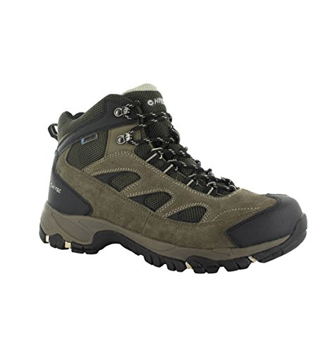 Hi-Tec Men's Logan WP Hiking Boot,Smokey Brown/Olive/Snow,11 M US