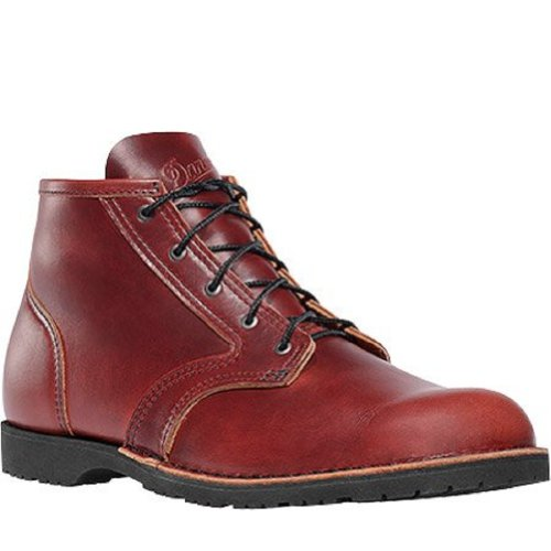 Stumptown by Danner Men's Forest Heights Olmsted Lifestyle Boot,Cherry Red,8 EE US