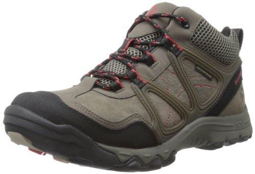 Wolverine Men's Terrain II Mid Brindle Hiking Boot,Grey,9.5 M US