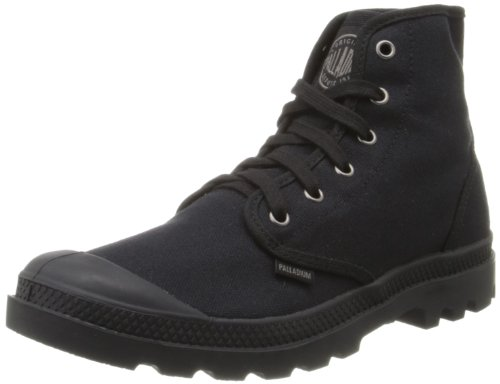 Palladium Men's Pampa Hi Canvas Boot,Black,10.5 M US