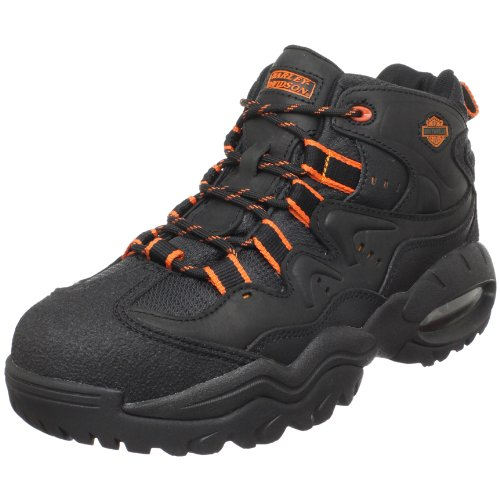 Harley-Davidson Men's Crossroads II Steel Toe Hiking Boot,Black,12 M US