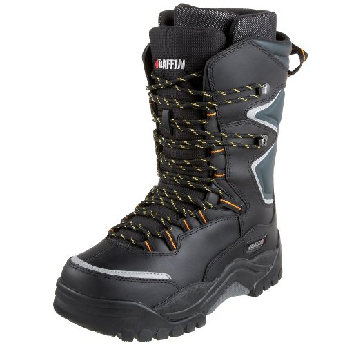 Baffin Men's Lightning Snow Boot,Black/Charcoal,7 M US