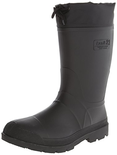 Kamik Men's Hunter Insulated Winter Boot, Black, 12 M US