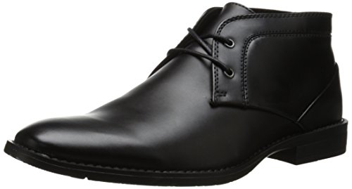 Calvin Klein Men's Warden Boot, Black, 11.5 M US