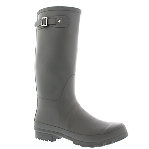 Mens Original Tall Plain Fishing Garden Rubber Waterproof Wellingtons – 13 – GRE46 BL0183