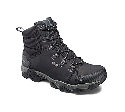 Ahnu Men's Coburn Lightweight Mid Hiking Boot, Black,11 M US