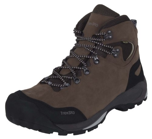 TrekSta Men's Alta GTX Hiking Boot – Size 11.5 Dark Brown