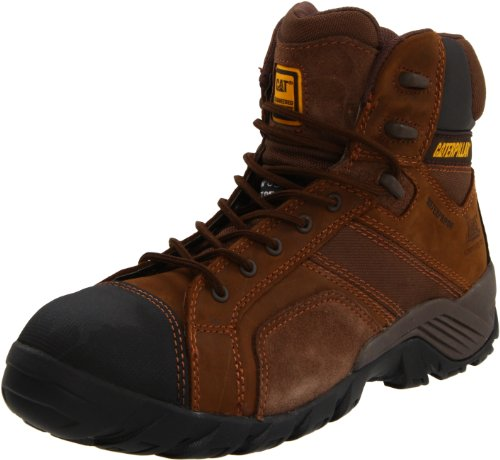 Caterpillar Men's Argon HI WP CT Hiking Boot,Dark Brown,11.5 M US