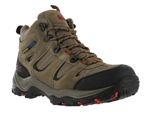 Nord Trail Mens Mt. Washington High Hiking Waterproof Boot,Taupe,Size 9 2027903