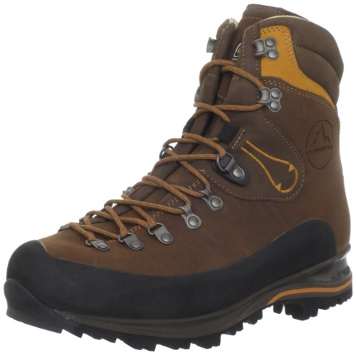 La Sportiva Men's Pamir Hiking Boot,Brown Leather,44 EU/10.5 M US