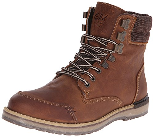 GBX Men's Draco Boot, Brown, 7 M US