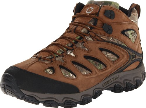 Merrell Men's Pulsate Camo Mid Waterproof Hiking Boot,Camo,8.5 M US