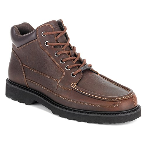 Rockport Men's Dougland,Chocolate Leather,US 8.5 W
