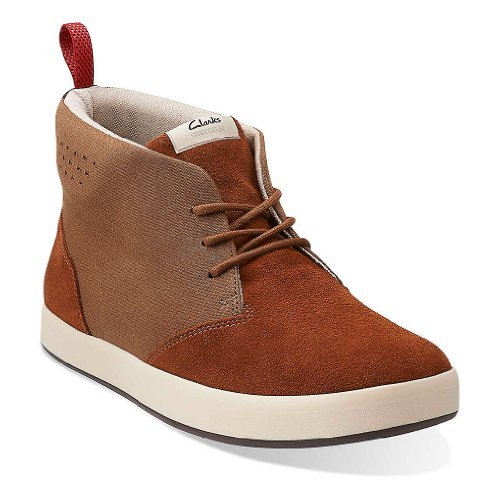 Clarks Men's Tanner Mid Chukka Boot,Brown,8 M US