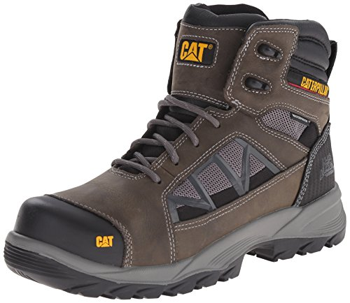 Caterpillar Men's Compressor 6 Inch WP Work Boot, Dark Gull Grey, 11 M US