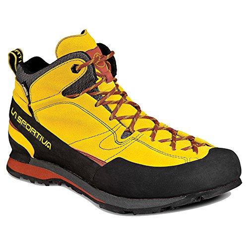 La Sportiva Boulder X Mid GTX Boot – Men's Nugget 44