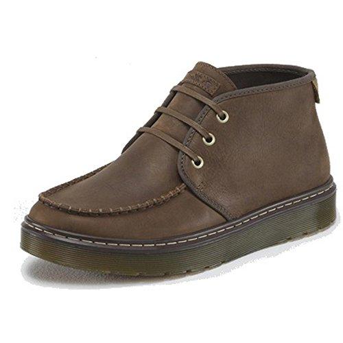 Dr. Martens Men's Cambridge Moc Toe Chukka Boot,Brown,8 M UK / 9 D(M) US