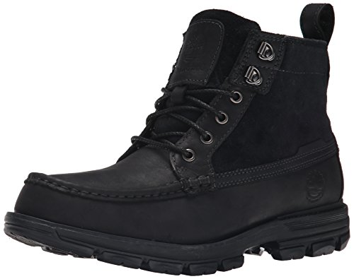 Timberland Men's Heston Mid Waterproof Winter Boot, Black, 8 M US