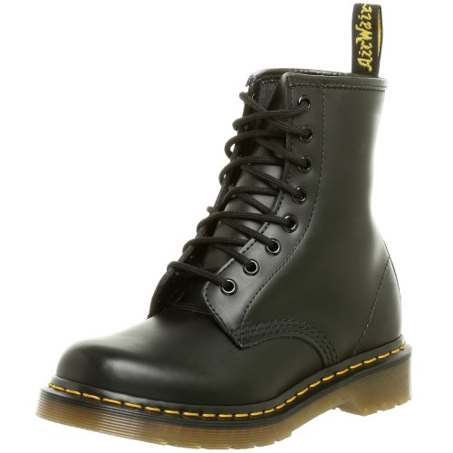 Dr. Martens Women's 1460 Originals Eight-Eye Lace-Up Boot,Black Smooth Leather,6 UK (8 M US Womens)