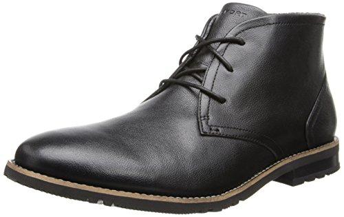 Rockport Men's Ledge Hill 2 CH Chukka Boot,Black,9 M US