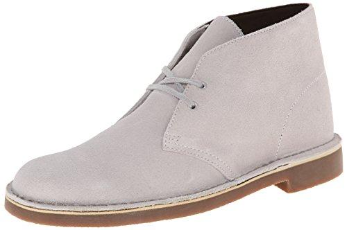 Clarks Men's Bushacre II Grey Suede Boot 11 D – Medium