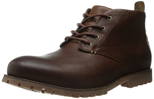 Bogs Men's Johnny Waterproof Chukka Boot, Scotch, 9.5 M US