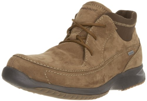 Dunham by New Balance Men's Ridgecrest Gore Tex Boot,Brown Nubuck,9 2E US
