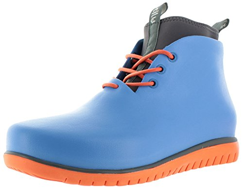 Ccilu Paolo Men's Waterproof Rubber Chukka Boots Neoprene Blue Size 9