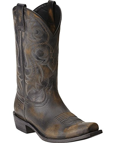 Ariat Men's Lawless Western Boot,  Rustic Black,  11 M US