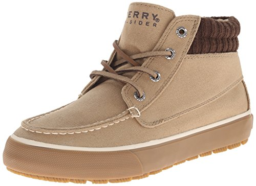 Sperry Top-Sider Men's Bahama Lug Duck Cloth Chukka Boot, Tan, 10.5 M US