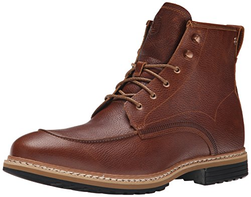 Timberland Men's West Haven Moc Toe 6 Inch Waterproof Boot, Dark Brown Fog, 9.5 M US