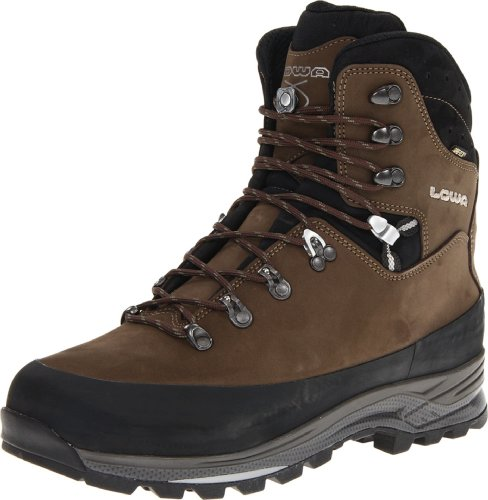 Lowa Men's Tibet GTX Trekking Boot,Sepia/Black,14 M US