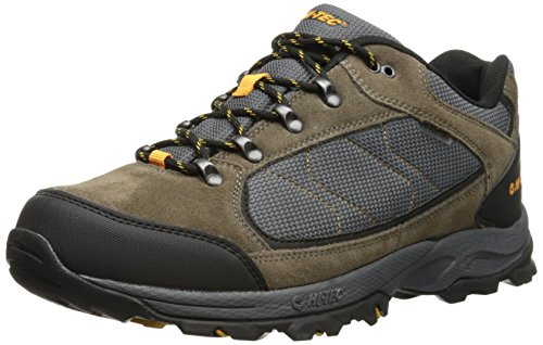 Hi-Tec Men's Oregon II Low WP Hiking Boot,Smokey Brown/Light Taupe/Gold,9.5 M US